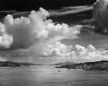 Golden Gate Before the Bridge by Ansel Adams